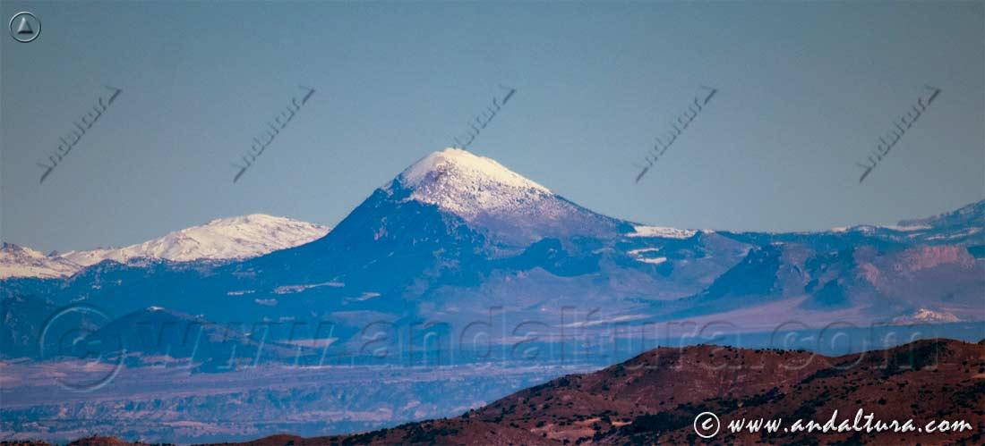 La Sagra nevada desde Sierra Nevada