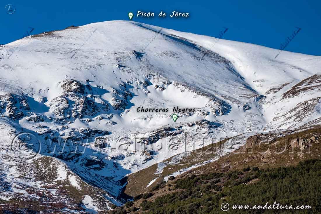 Ruta Jérez del Marquesado - Chorreras Negras