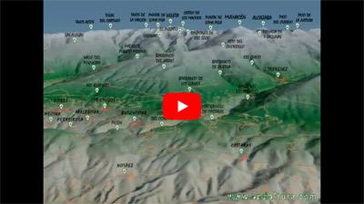 Captura de la Animación de la Ruta Medieval por la Alpujarra