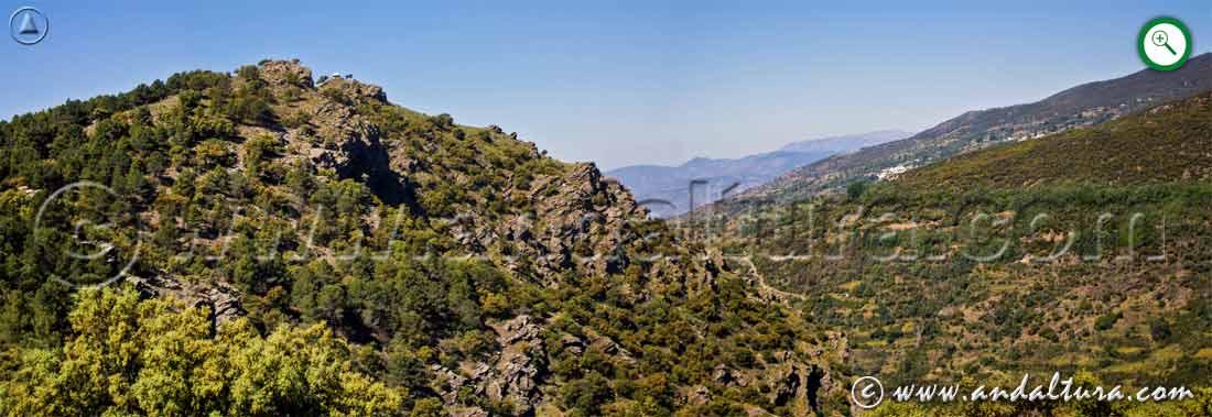 Cerrillos Negros y Valle del río Trevélez