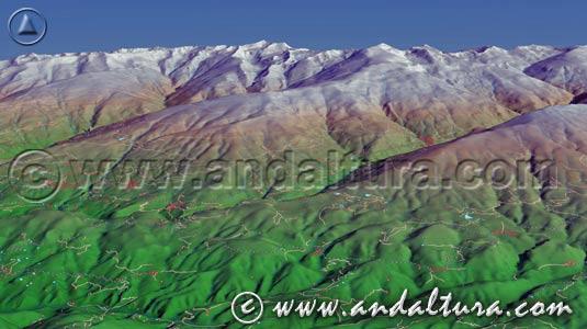 Acceso a las Imagenes Virtuales en 3D de la Ruta Medieval por la Alpujarra