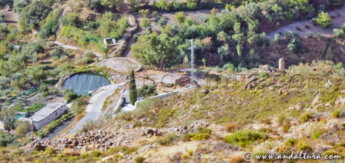 Alberca Medieval, Era de la Alberca y Ruinas de la Mina de la Retama
