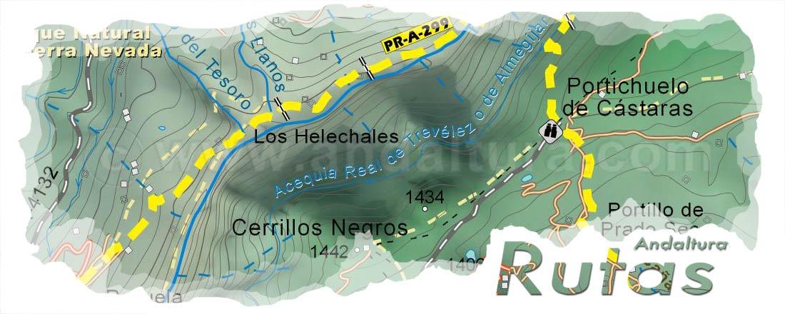 Cabecera Ruta de Senderismo por la Alpujarra de Busquístar a Castaras