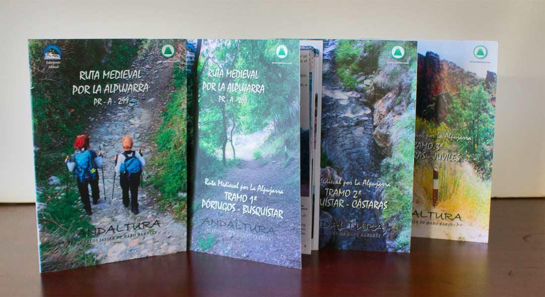 Descarga PDF Topoguías Ruta Medieval por la Alpujarra