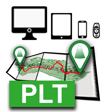 Acceso a Descarga de Track y Waypoints PLT Rutas de Andaltura