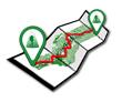 Icono de los Track y Waypoints de la Ruta Medieval por la Alpujarra