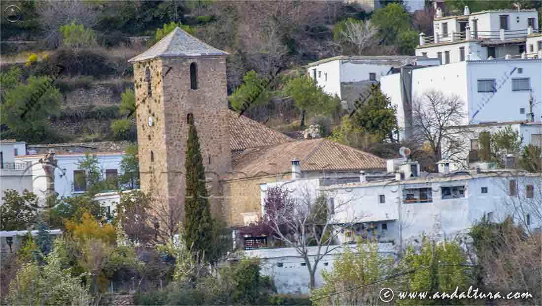 Iglesia de San Sebastián - Juviles -