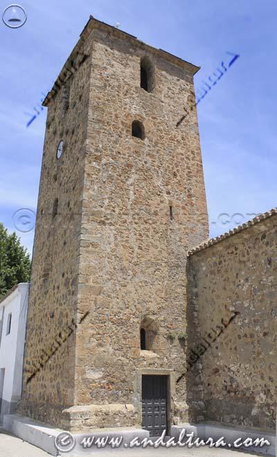 Torre de la Iglesia de San Sebastián de Juviles