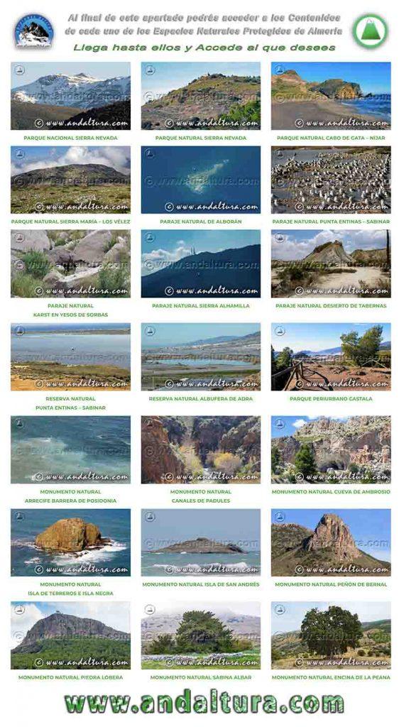 Espacios Naturales Protegidos de Almería en Imágenes