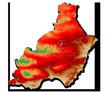 Mapa de la Provincia de Almería: Datos Generales